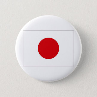 Japan National Flag 6 Cm Round Badge