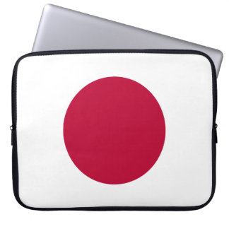 Japan National World Flag Laptop Sleeve
