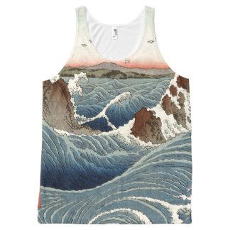 Japan Ocean Waves Sea Coast Tank Top