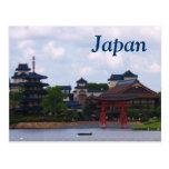 Japan Pagoda Postcard