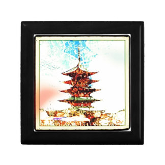 Japan Pagoda Temple Series Gift Box