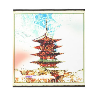 Japan Pagoda Temple Series Notepad