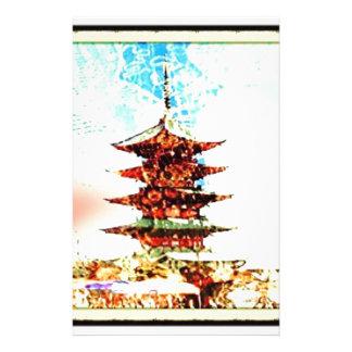 Japan Pagoda Temple Series Stationery