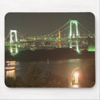 Japan Rainbow Bridge Mouse Pad