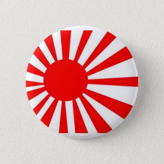 Japan Rising Sun Flag 6 Cm Round Badge