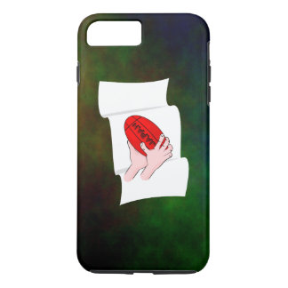 Japan Rugby Team Supporters Flag With Ball iPhone 7 Plus Case