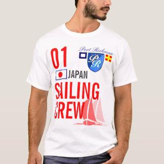 Japan Sailing Crew Nautical T-Shirt