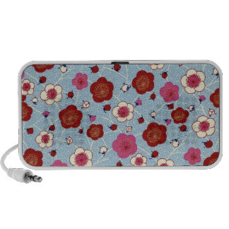 Japan, Sakura, Kimono, Origami, Chiyogami, Flower, Notebook Speaker