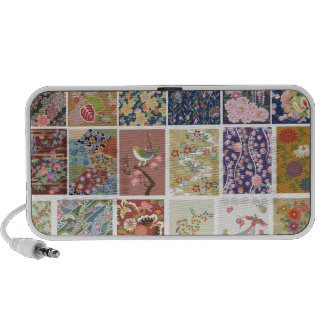 Japan, Sakura, Kimono, Origami, Chiyogami, Flower, Laptop Speakers