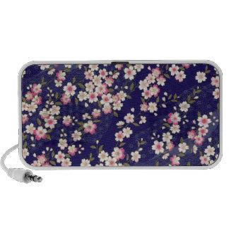 Japan, Sakura, Kimono, Origami, Chiyogami, Flower, Portable Speaker