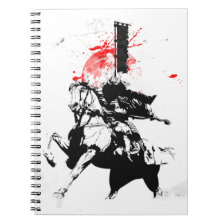 Japan Samurai Notebooks