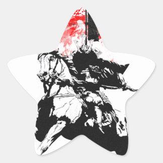 Japan Samurai Star Sticker