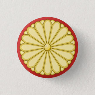 japan seal 3 cm round badge