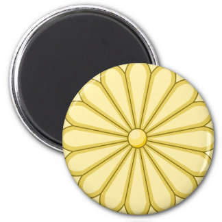 japan seal 6 cm round magnet