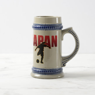 JAPAN SOCCER BEER STEIN