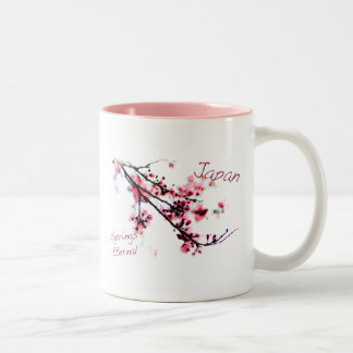japan Springs Eternal Two-Tone Coffee Mug