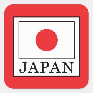 Japan Square Sticker