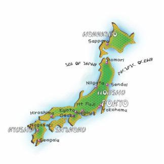JAPAN STANDING PHOTO SCULPTURE