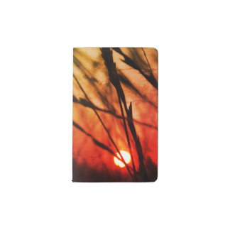 Japan sun Custom Notebook - Pocket