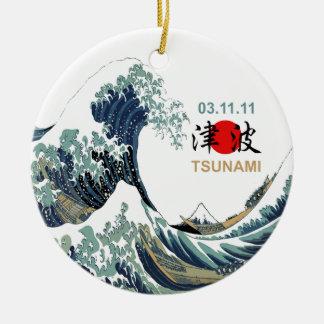 Japan Tsunami 2011 Ornament