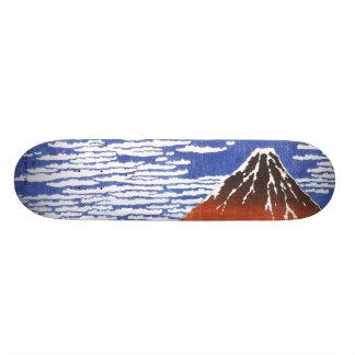 japan ukiyoe mt-fuji skateboard