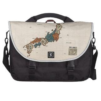 Japan - Vintage Map Laptop Computer Bag