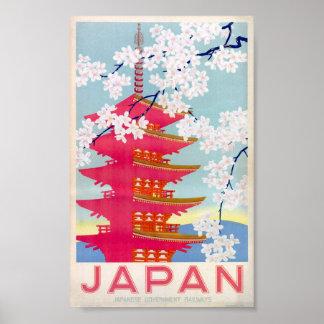 japan vintage poster