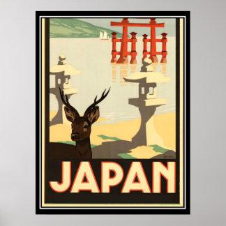Japan Vintage Travel Poster Print