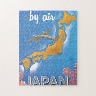 Japan vintage travel poster jigsaw puzzle