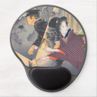 Japanese, active turn of 20th century Hamada Josen Gel Mouse Pad