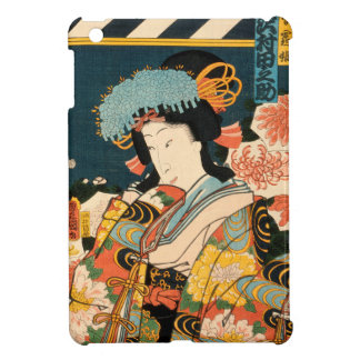 Japanese actor (#2) (Vintage Japanese print) Cover For The iPad Mini