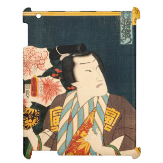 Japanese actor (#3) (Vintage Japanese print) Cover For The iPad