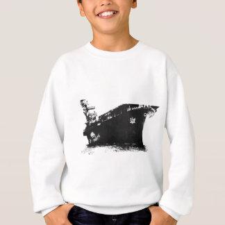 Japanese_aircraft_carrier_Hiyo Sweatshirt