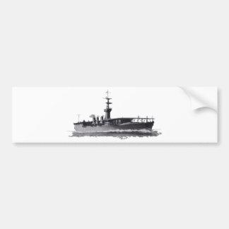 Japanese_aircraft_carrier_Hosho_1922 Bumper Sticker