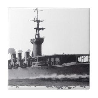 Japanese_aircraft_carrier_Hosho_1922 Ceramic Tile