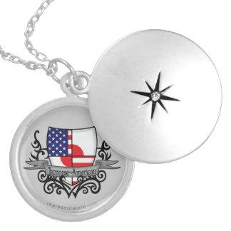 Japanese-American Shield Flag Locket