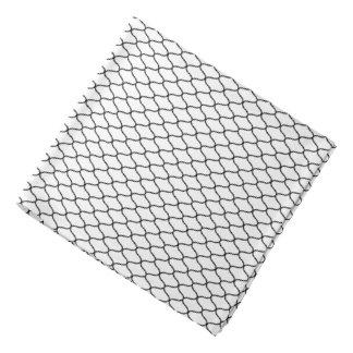 Japanese Amime Pattern White Bandana