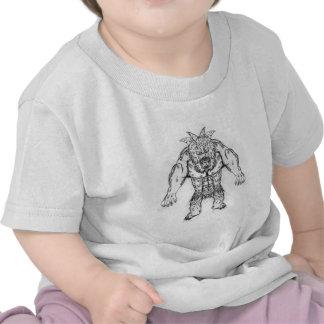 Japanese Ancient Beast Tattoo Art Tee Shirts