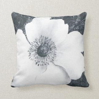 Japanese Anemone. Throw Pillow