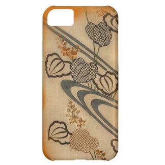 Japanese Antique Fabric Print iPhone 5C Case