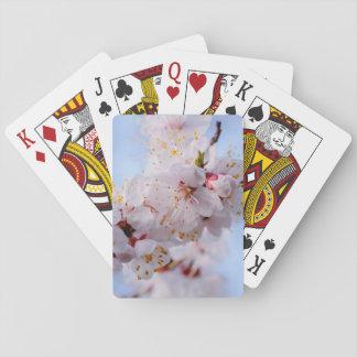 Japanese Apricot Blossom Poker Deck