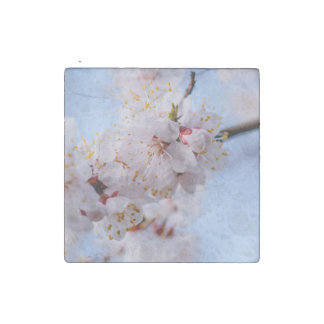 Japanese Apricot Blossom Stone Magnet