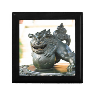 Japanese architecture small square gift box