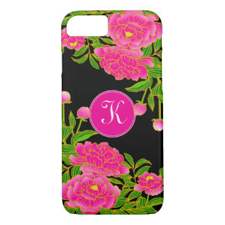Japanese Art Beautiful Peonies iPhone 8/7 Case