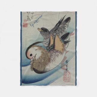 Japanese Art custom fleece blanket