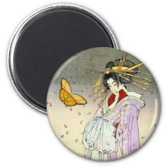 Japanese art magnet