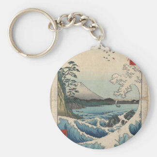 Japanese Art on Mugs, Coasters and more Key Ring