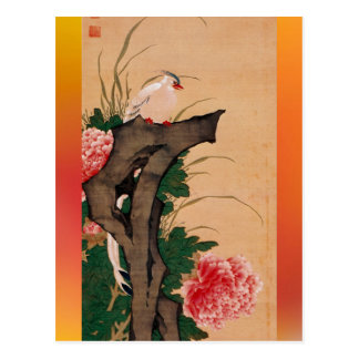 Japanese art postcard