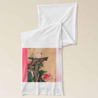 Japanese art scarf