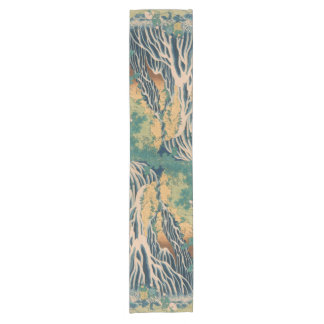 Japanese Art table runner
